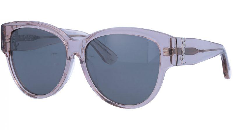 SAINT LAURENT SLM3F 006 57 NUDE Sunglasses