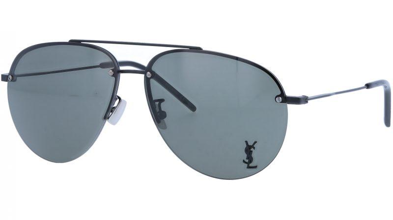SAINT LAURENT CLASSIC11/F M 005 63 BLACK Sunglasses