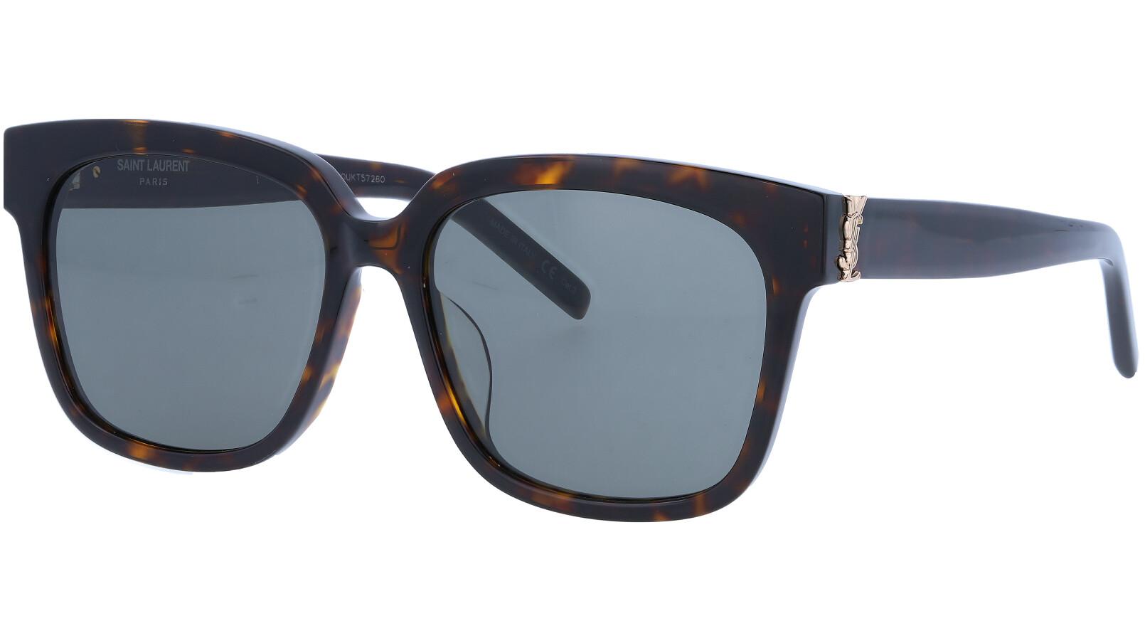 SAINT LAURENT SLM40F 003 55 BLACK Sunglasses