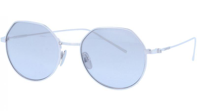 Calvin Klein CK18111S 045 51 Silver Sunglasses