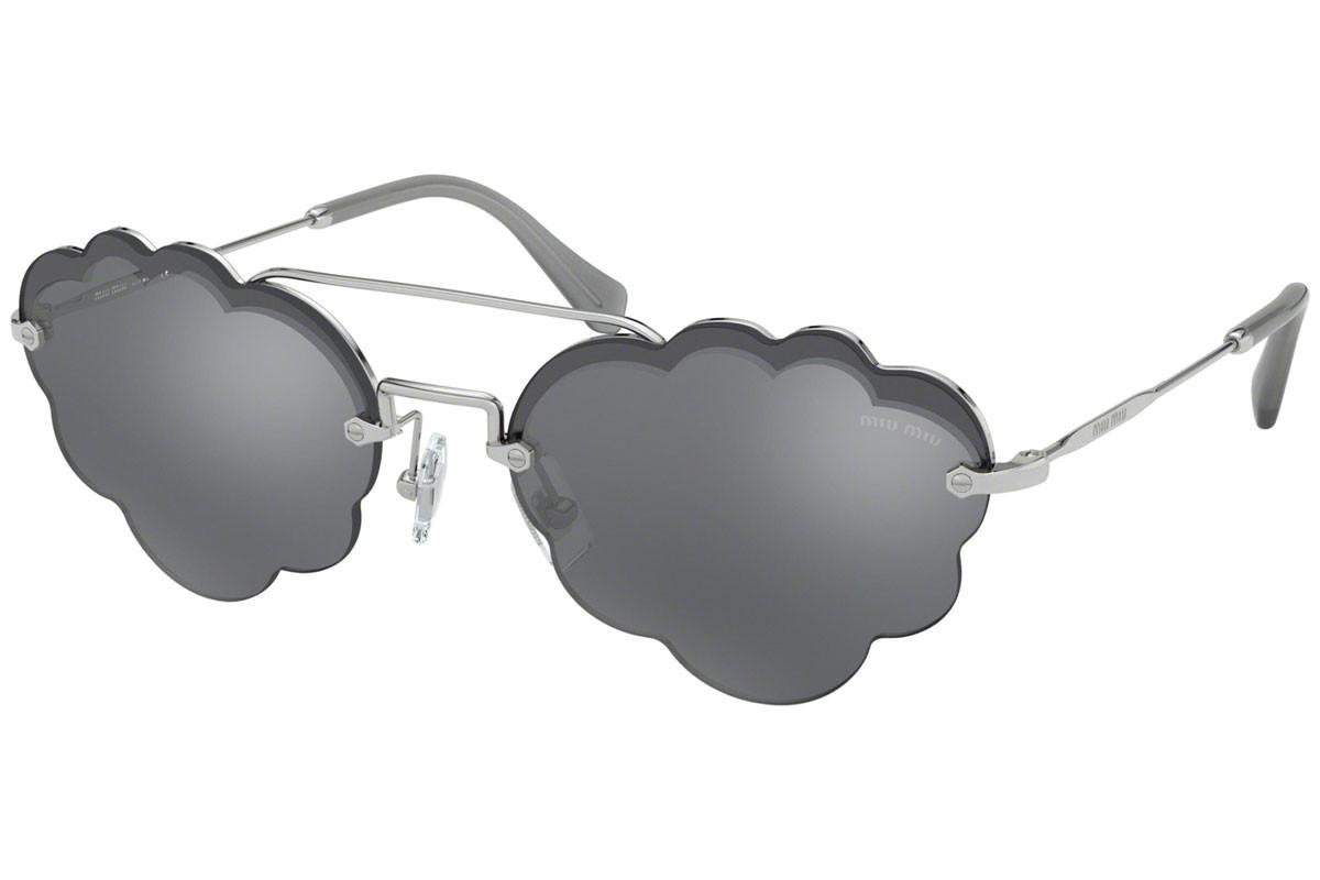 MIU MIU MU57US 1BC175 58 Grey Cloud Sunglasses