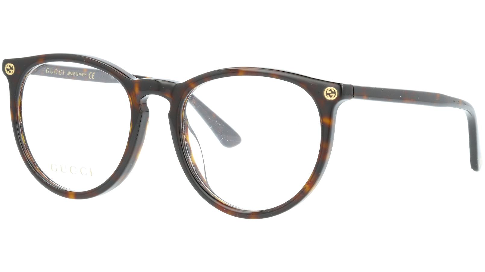 GUCCI GG0027OA 002 52 AVANA Glasses
