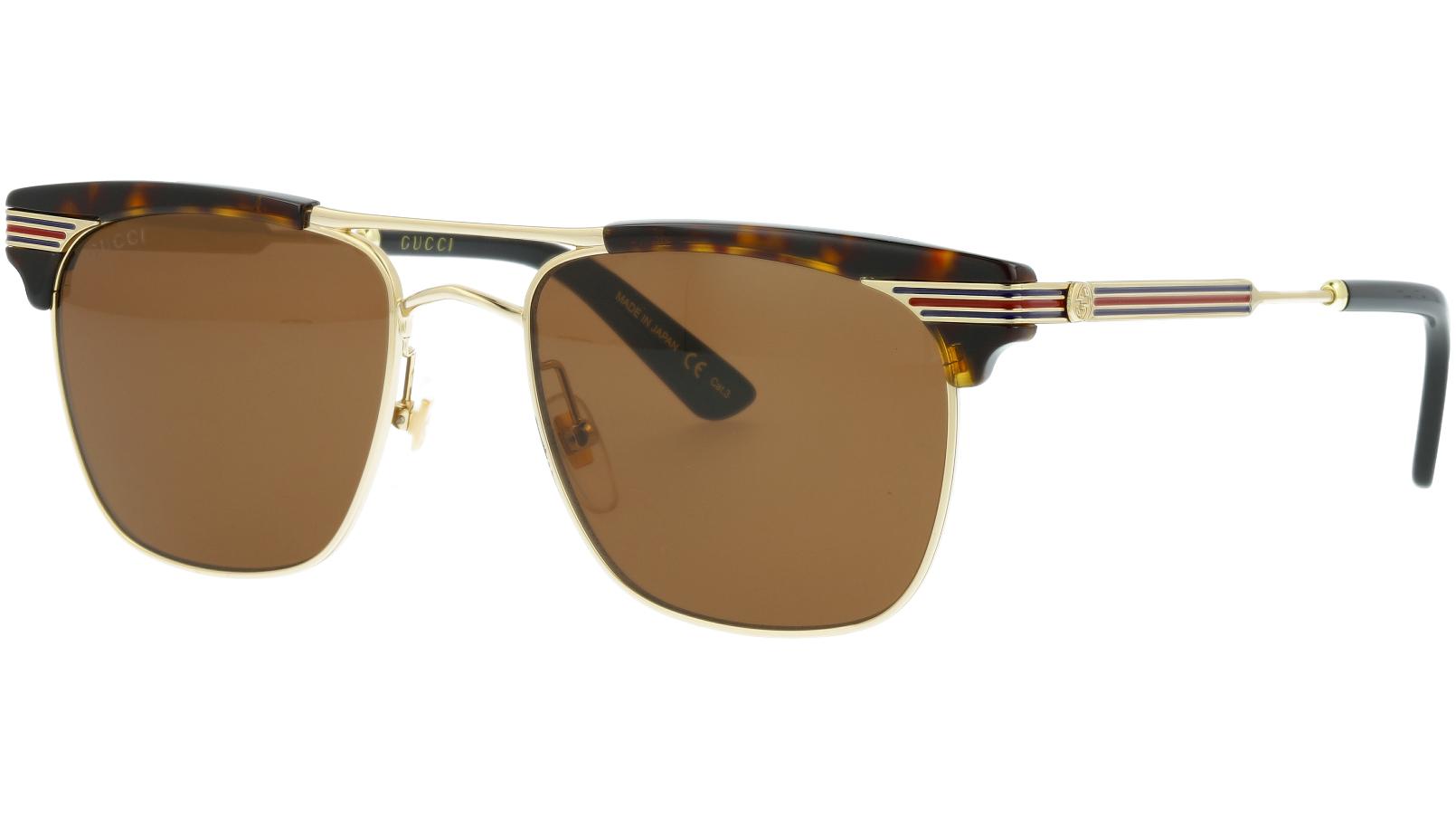 GUCCI GG0287S 003 52 AVANA Sunglasses