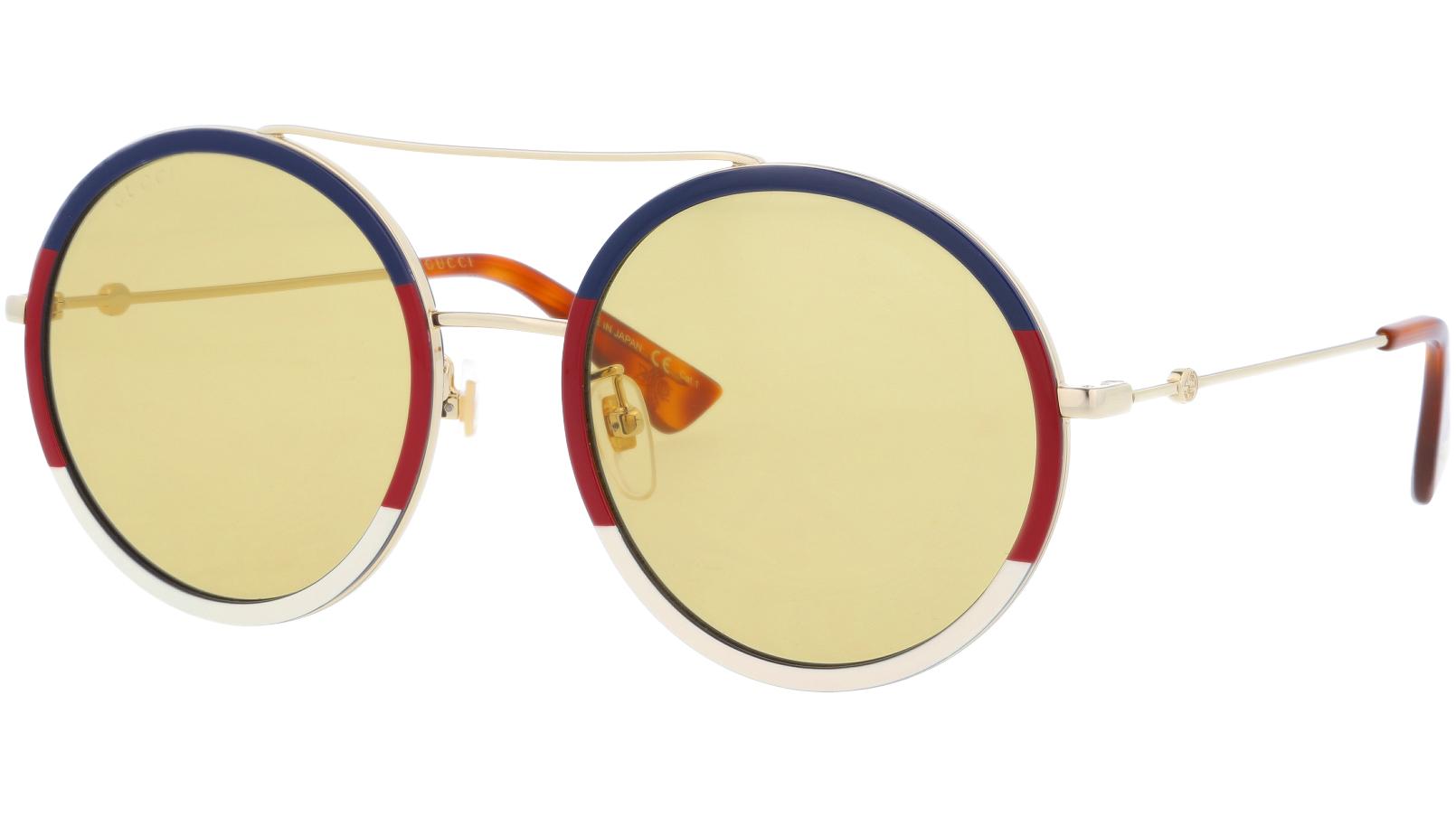 GUCCI GG0061S 015 56 GOLD Sunglasses