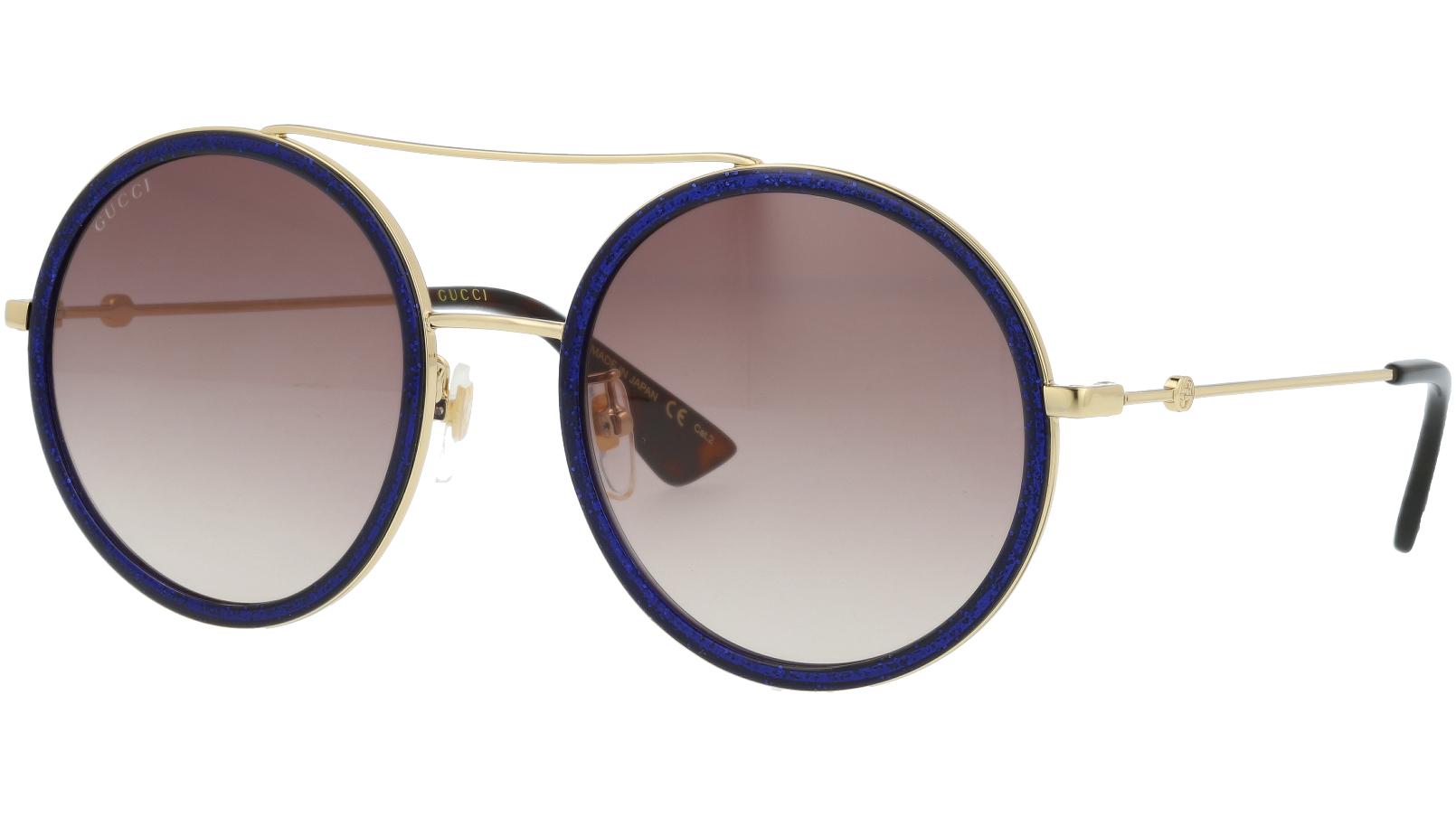 GUCCI GG0061S 005 56 GOLD Sunglasses