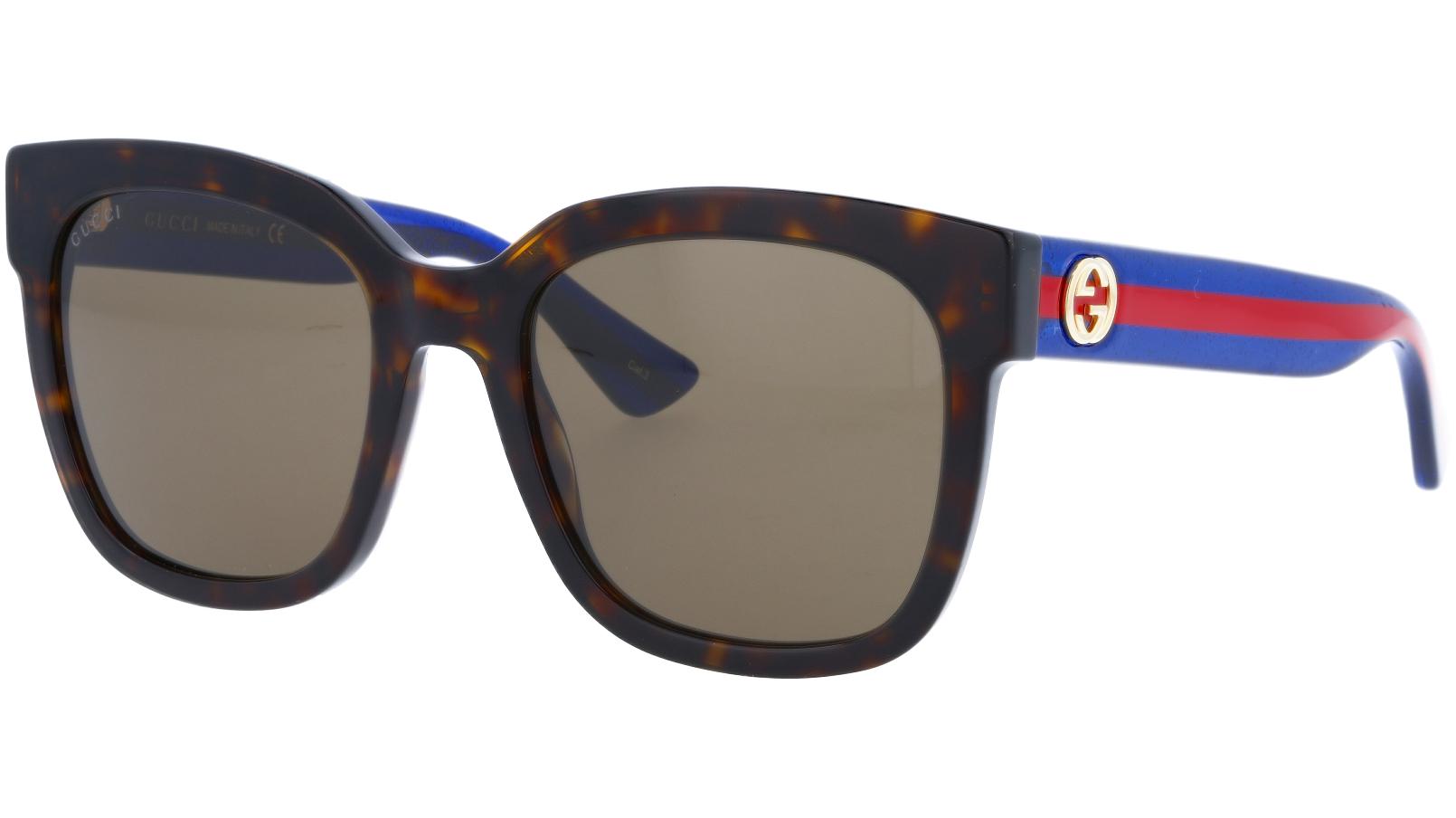GUCCI GG0034S 004 54 AVANA Sunglasses