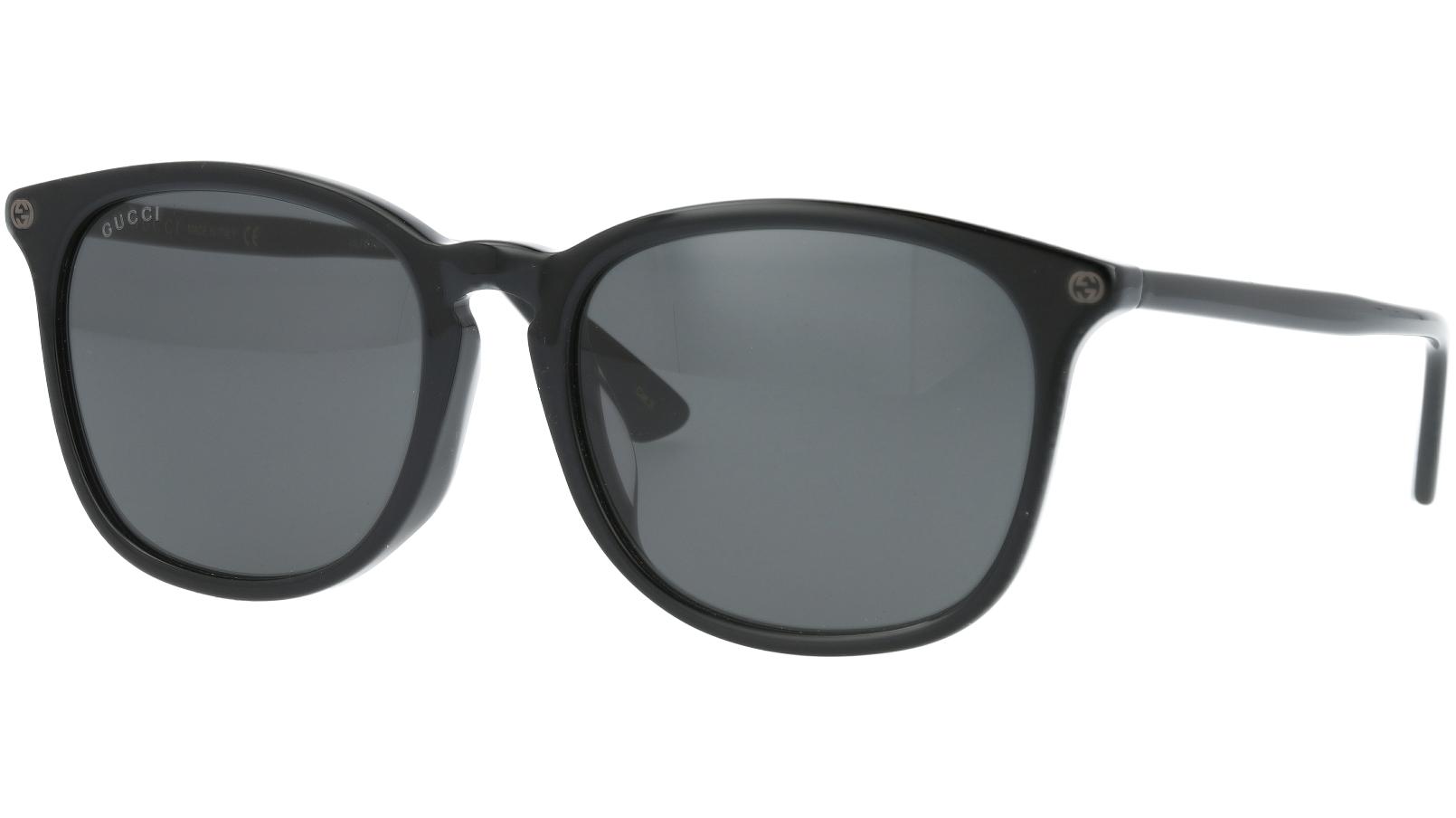 GUCCI GG0154SA 005 56 BLACK Sunglasses