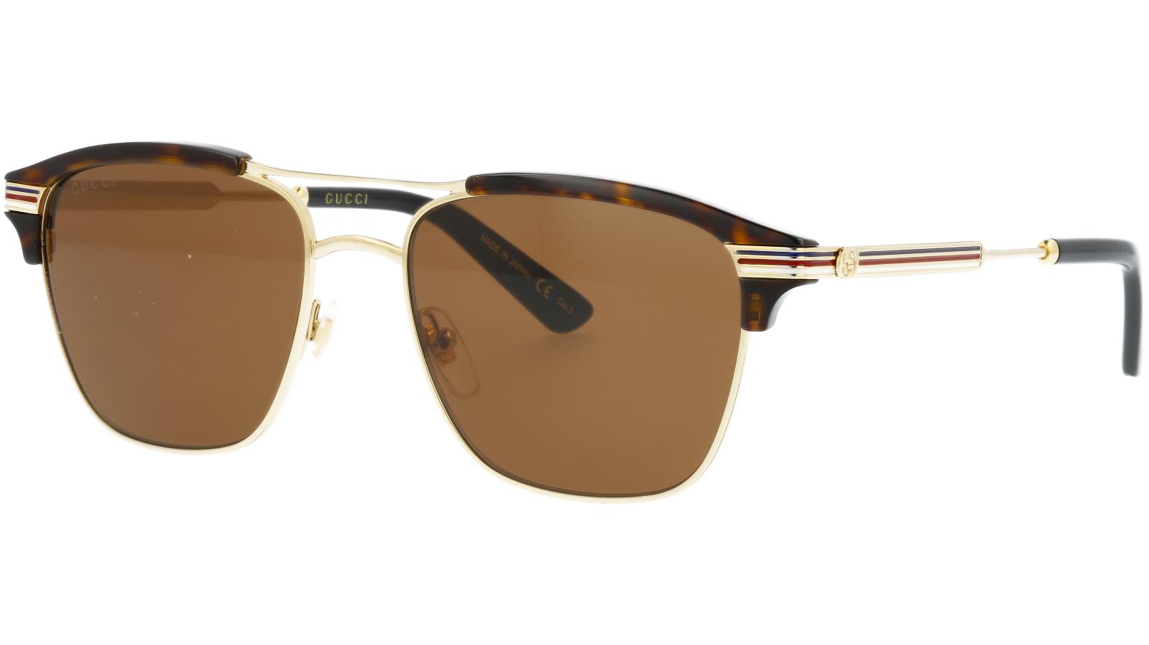 GUCCI GG0241S 003 54 GOLD Sunglasses