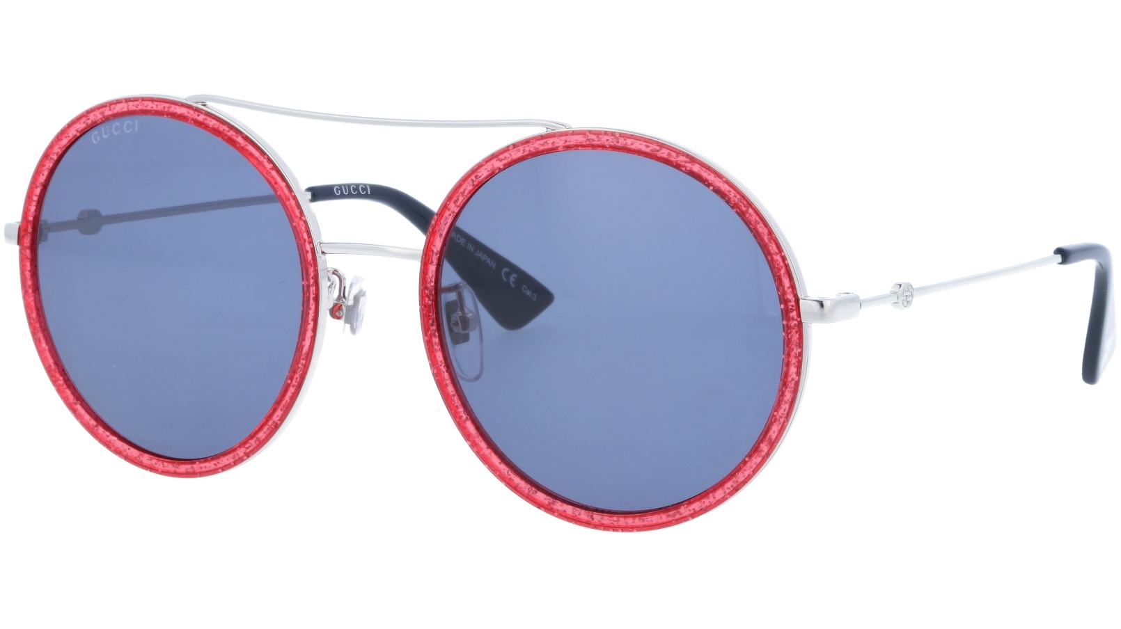 GUCCI GG0061S 007 56 SILVER Sunglasses