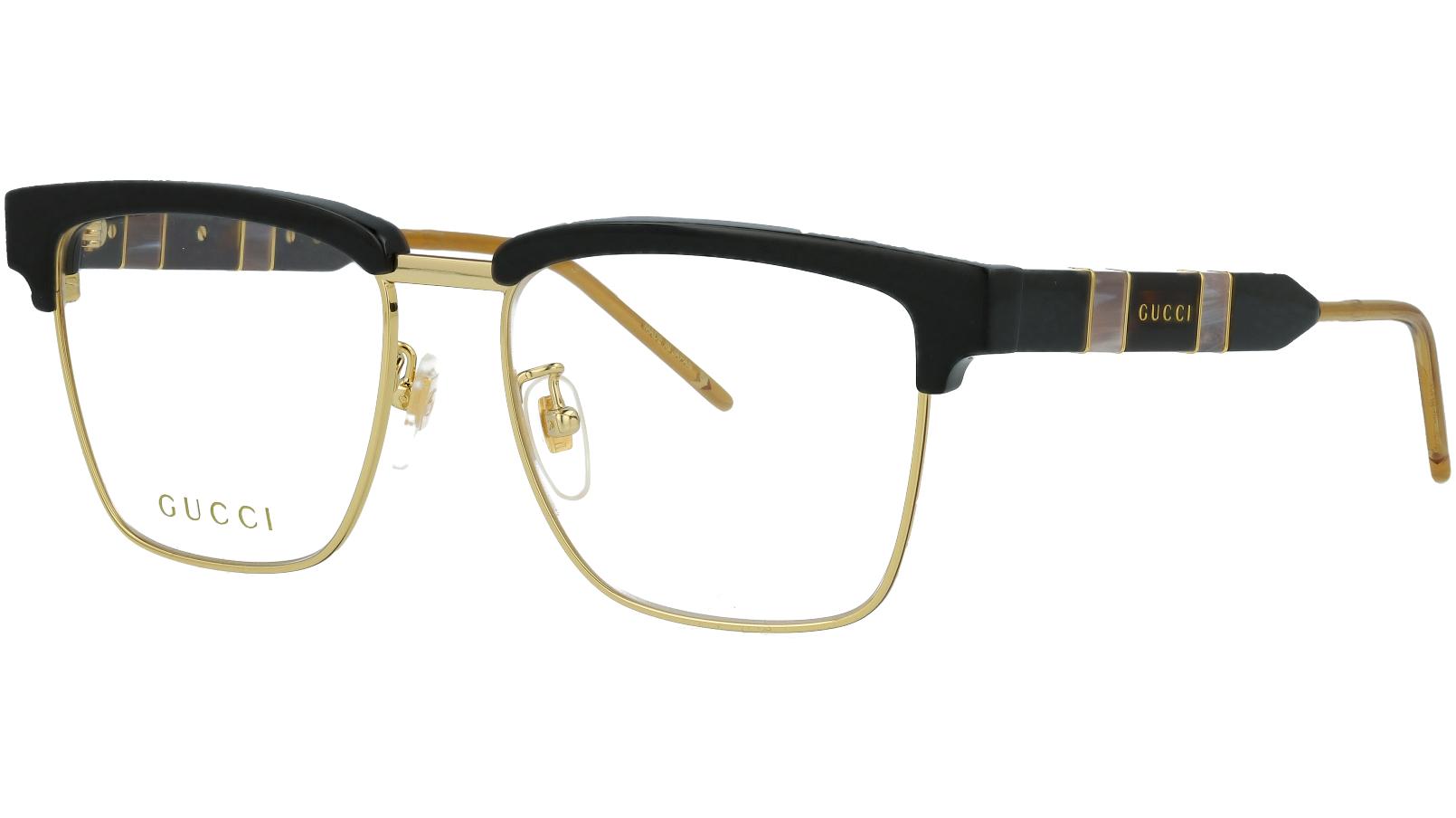 Gucci GG0605O 001 52 Black Square Glasses