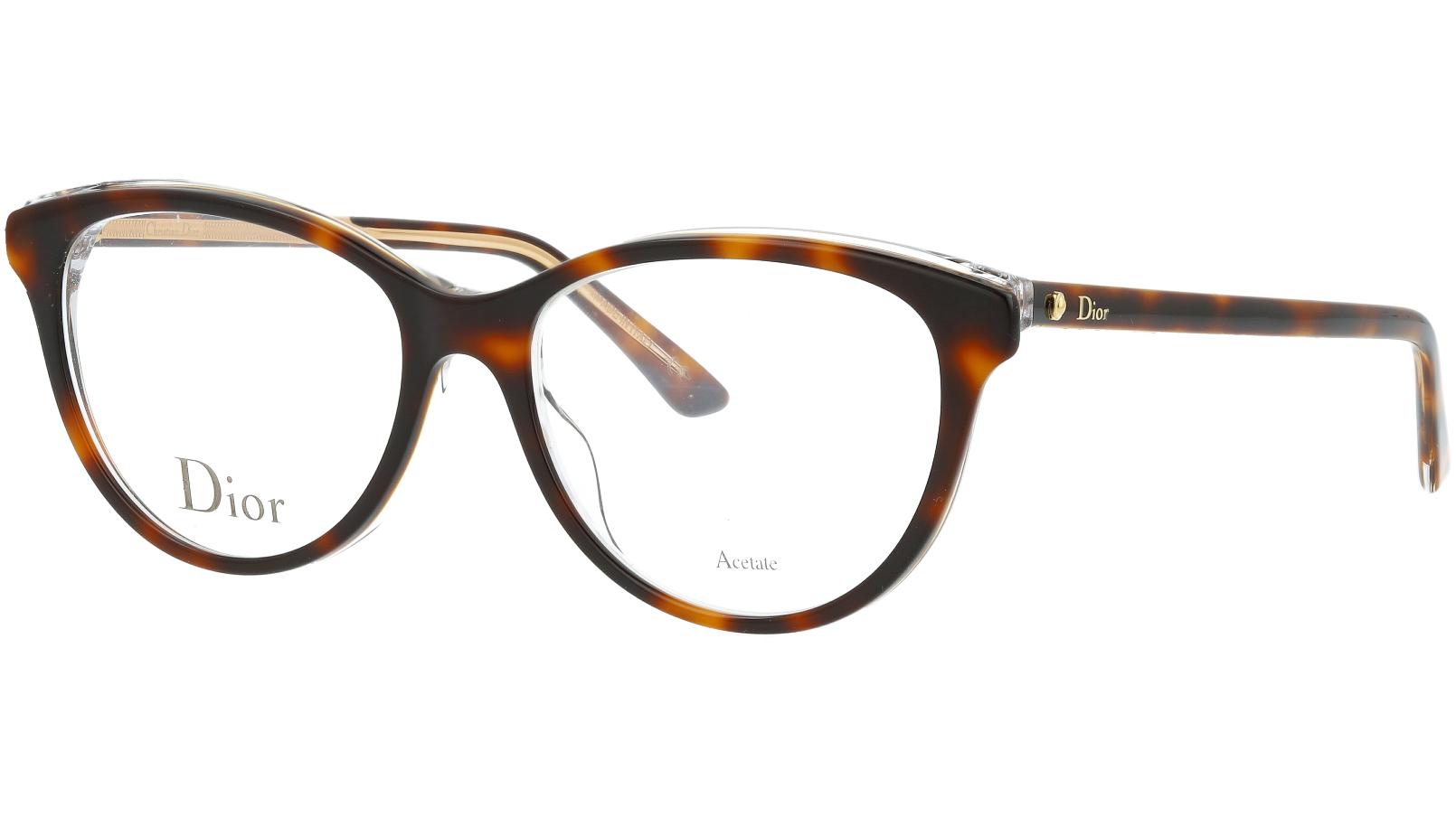 Dior MONTAIGNE17 G9Q 51 Havana Glasses
