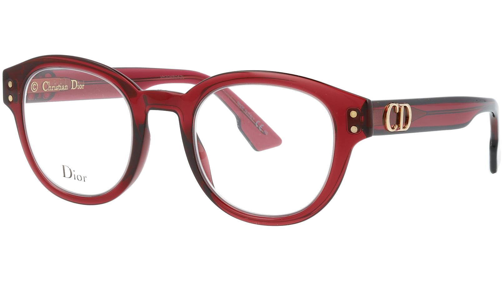 Dior CD2 LHF 46 BurgunD Glasses