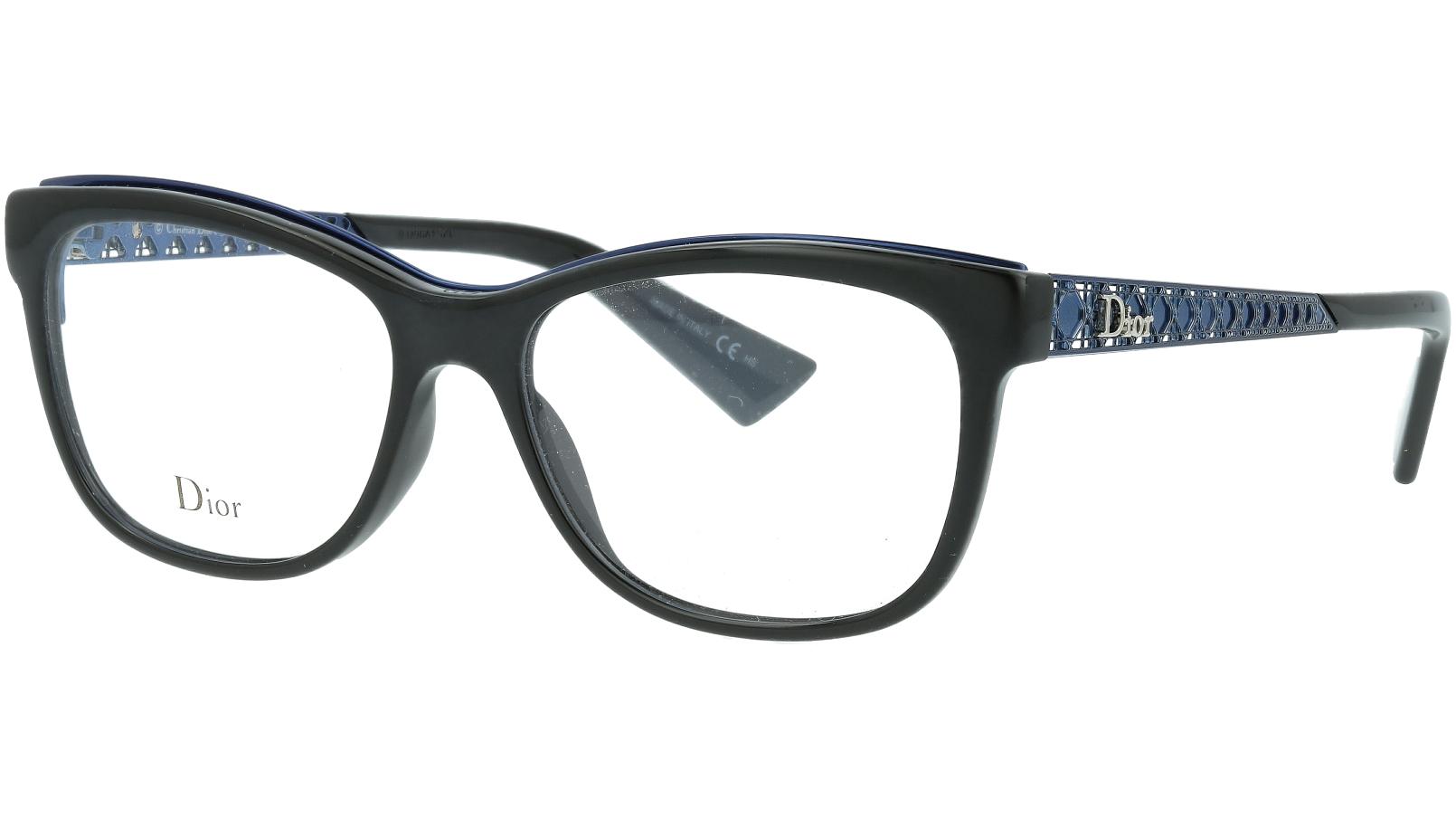 Dior AMAO1 EMV 53 Black Glasses