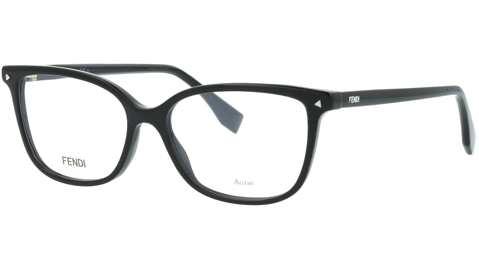 FENDI FF0349 807 52 BLACK Glasses