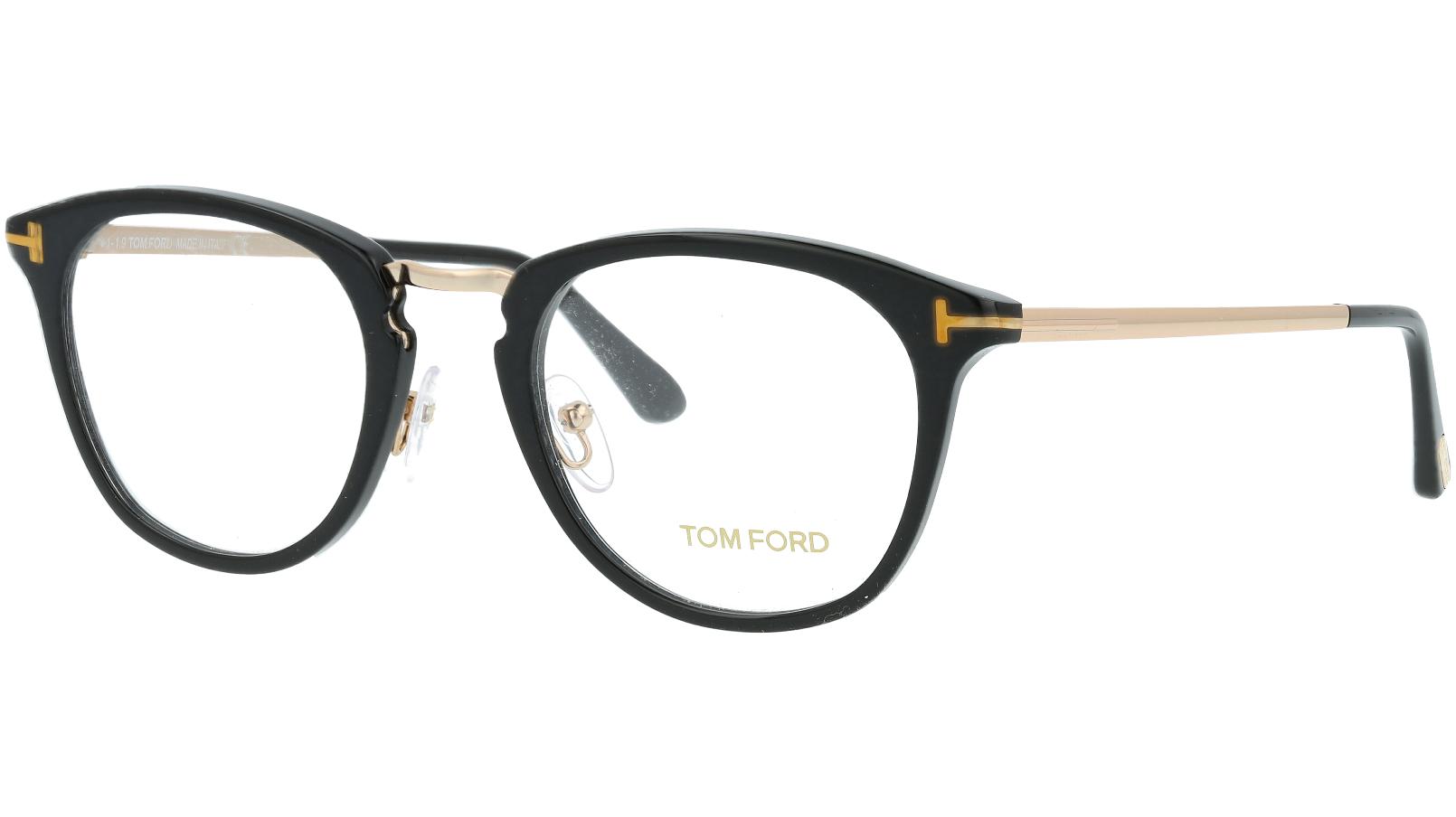 Tom Ford TF5466 001 51 Black Glasses