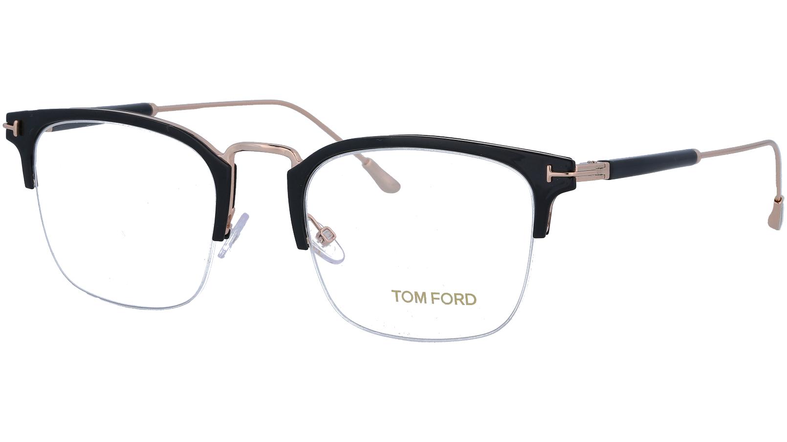 Tom Ford TF5611 001 52 Black Titanium Glasses