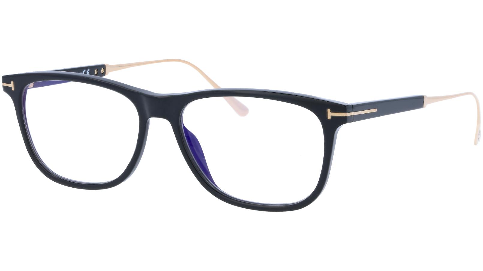 Tom Ford TF5589-B 001 55 Black Titanium Glasses