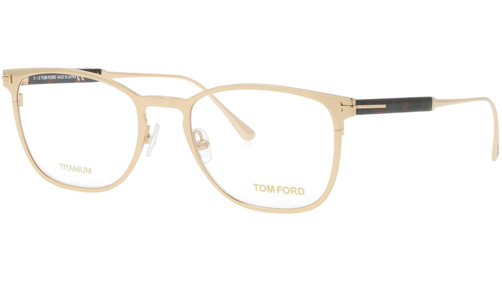 TOM FORD FT5483 028 52 GOLD Glasses