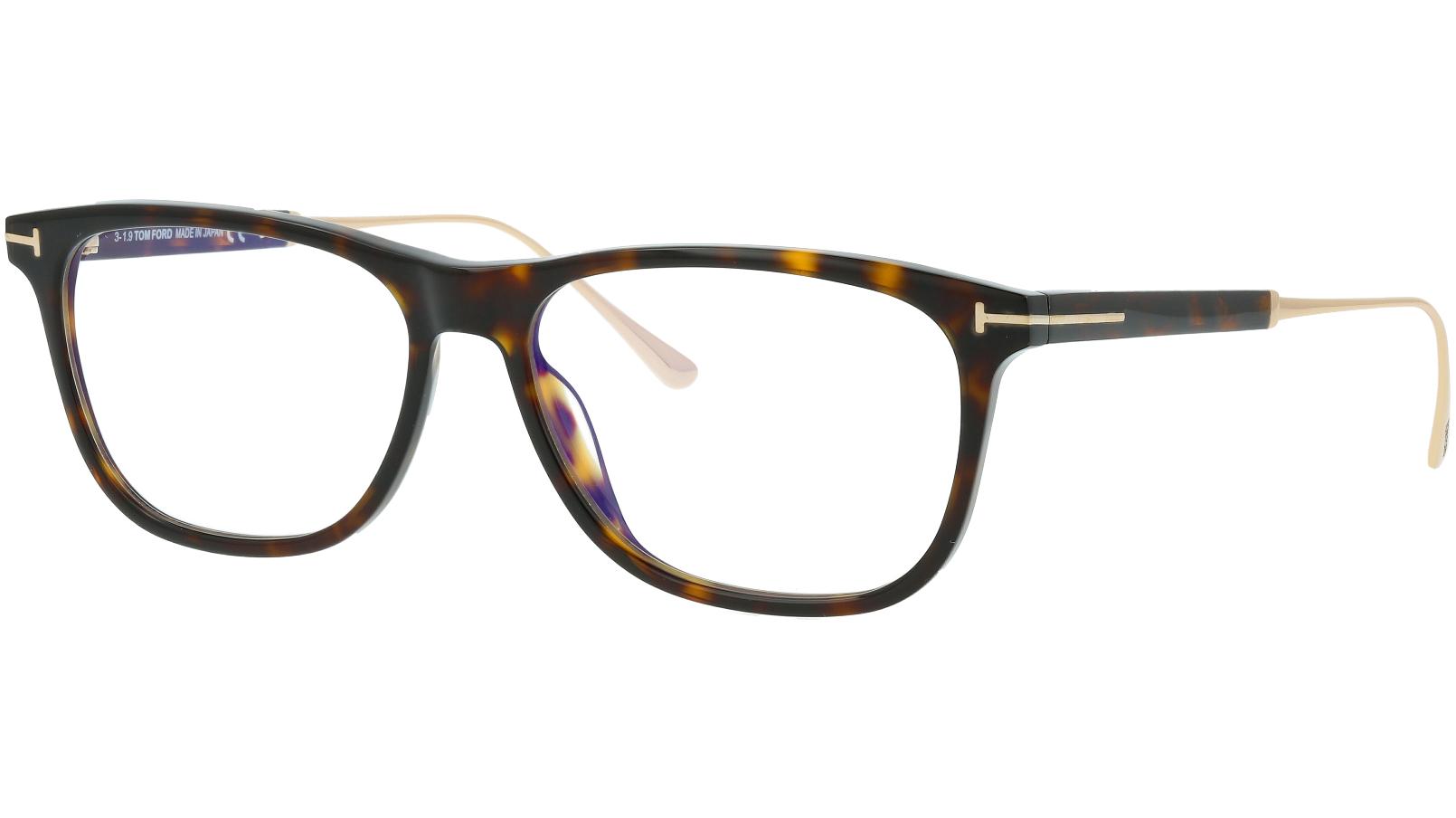 Tom Ford TF5589-B 052 55 Havana Glasses