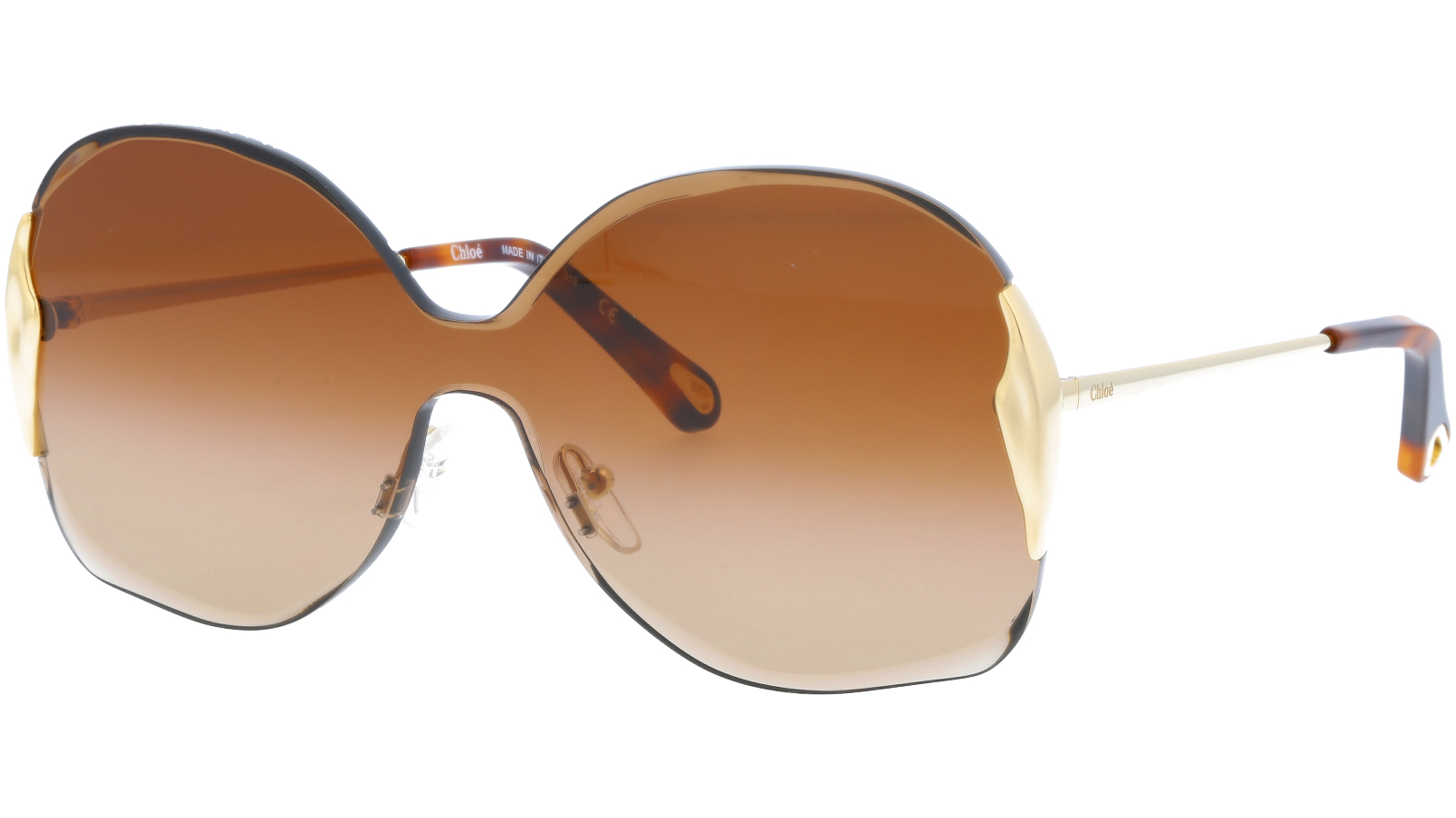 CHLOE CE162S 742 59 Gold Single Lens Sunglasses
