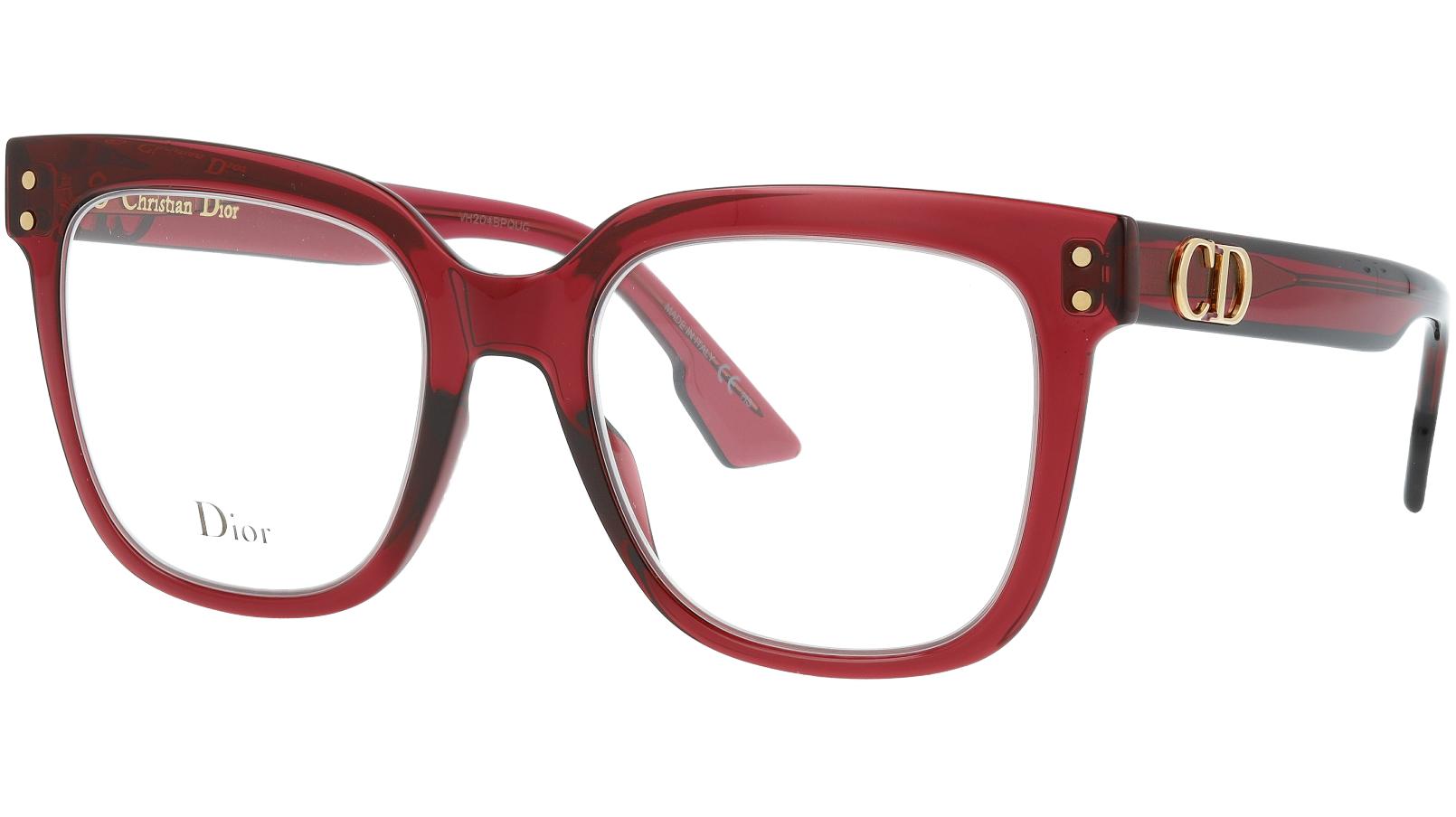 Dior CD1 LHF 50 BurgunD Glasses