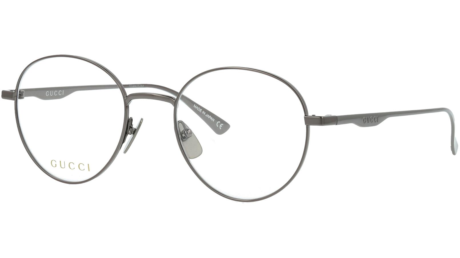 GUCCI GG0337O 007 51 RUTHENIUM Glasses