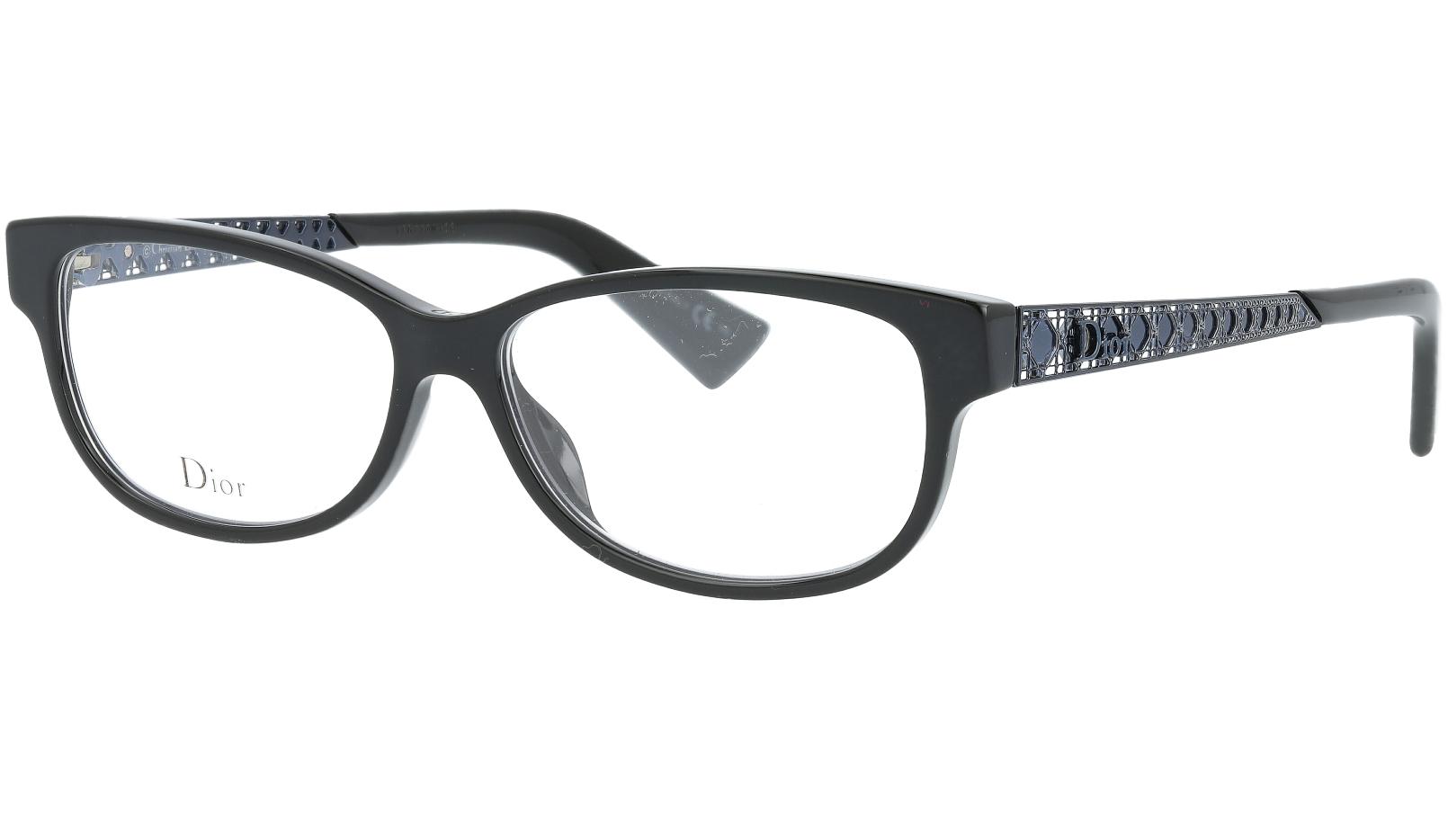 Dior AMAO5 807 53 Black Glasses