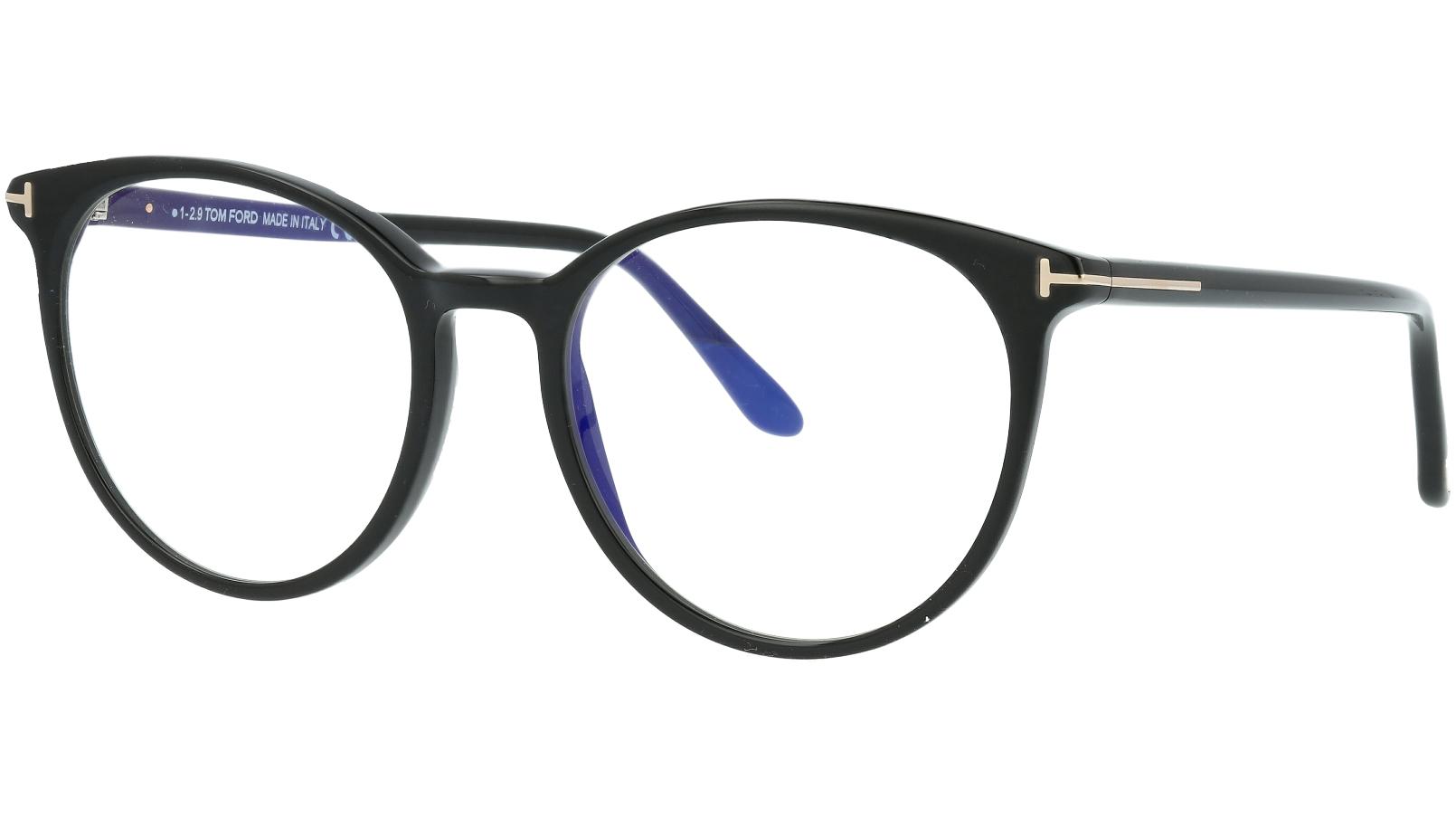 Tom Ford TF5575-B 001 53 Black Glasses