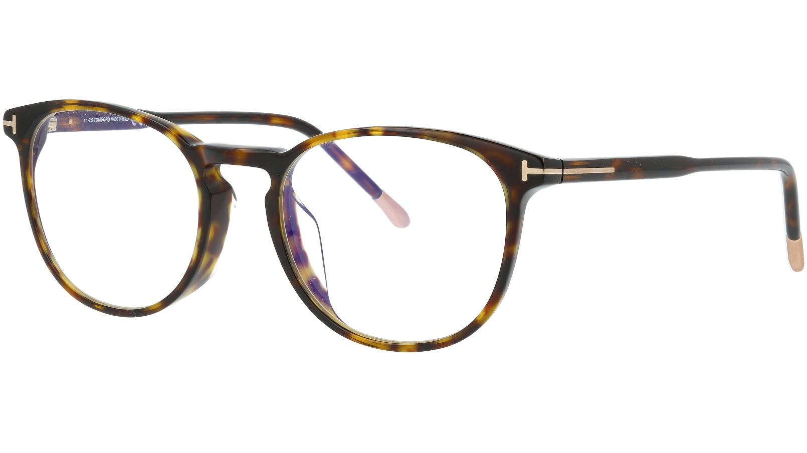 Tom Ford TF5608-B 052 52 Havana Glasses