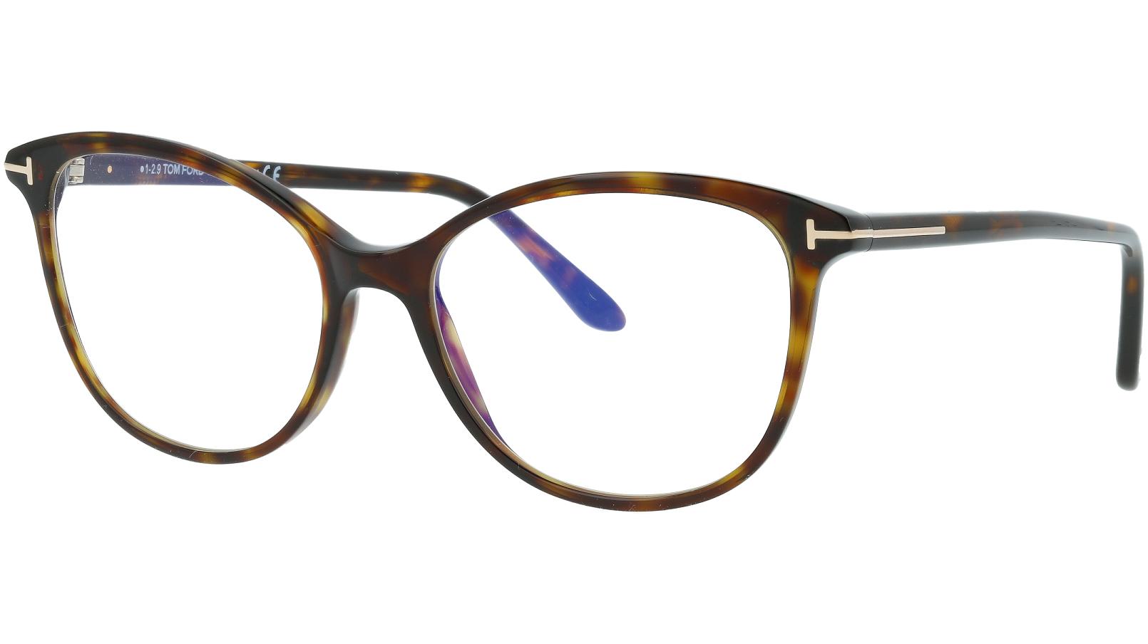 TOM FORD FT5576-B 052 54 HAVANA Glasses