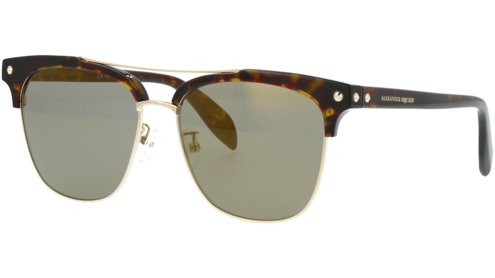 ALEXANDER MCQUEEN AM0126SK 002 57 AVANA Sunglasses