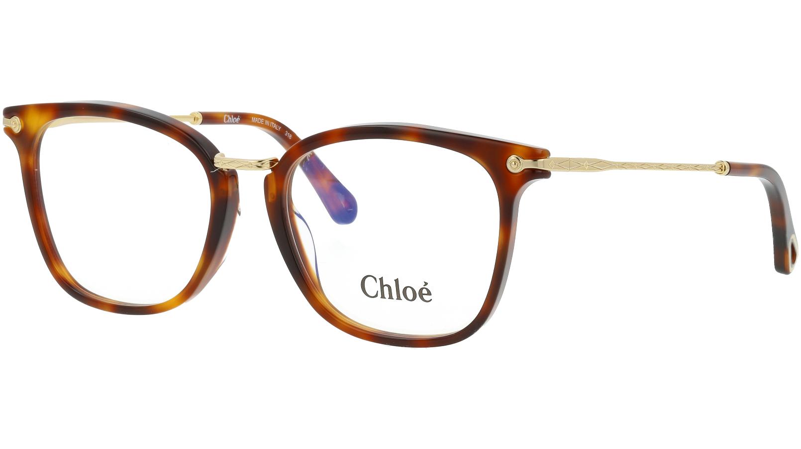 Chloé CE2734 218 53 Havana Glasses