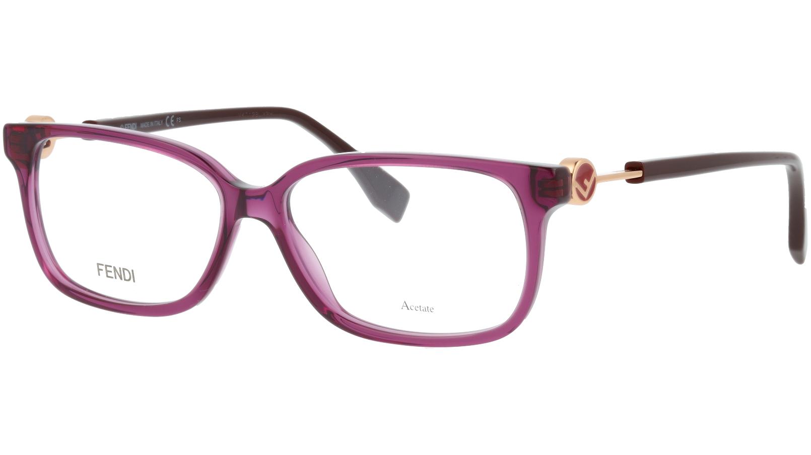 FENDI FF0394 0T7 54 PLUM Glasses