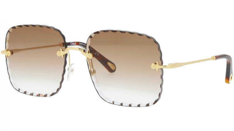 Chloé Rosie CE161S 742 59 Gold Square Sunglasses