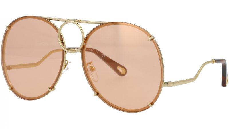 Chloé CE145S 828 61 Gold Vicky Aviator Sunglasses
