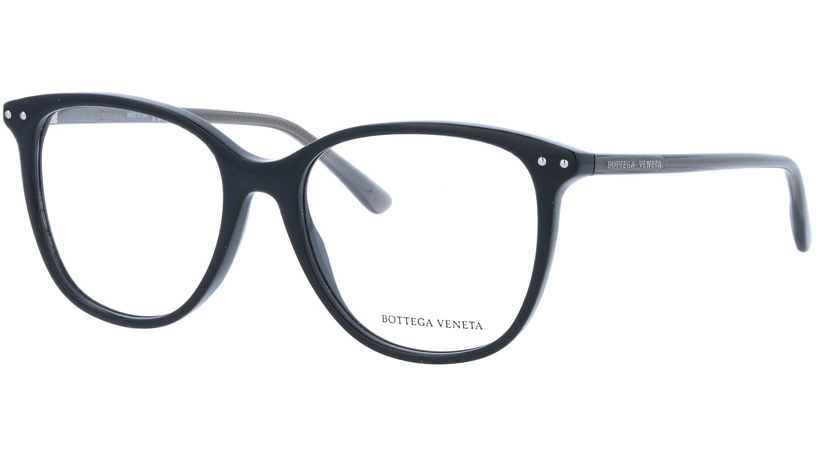 Alexander McQueen AM0161O 001 52 BLACK Glasses