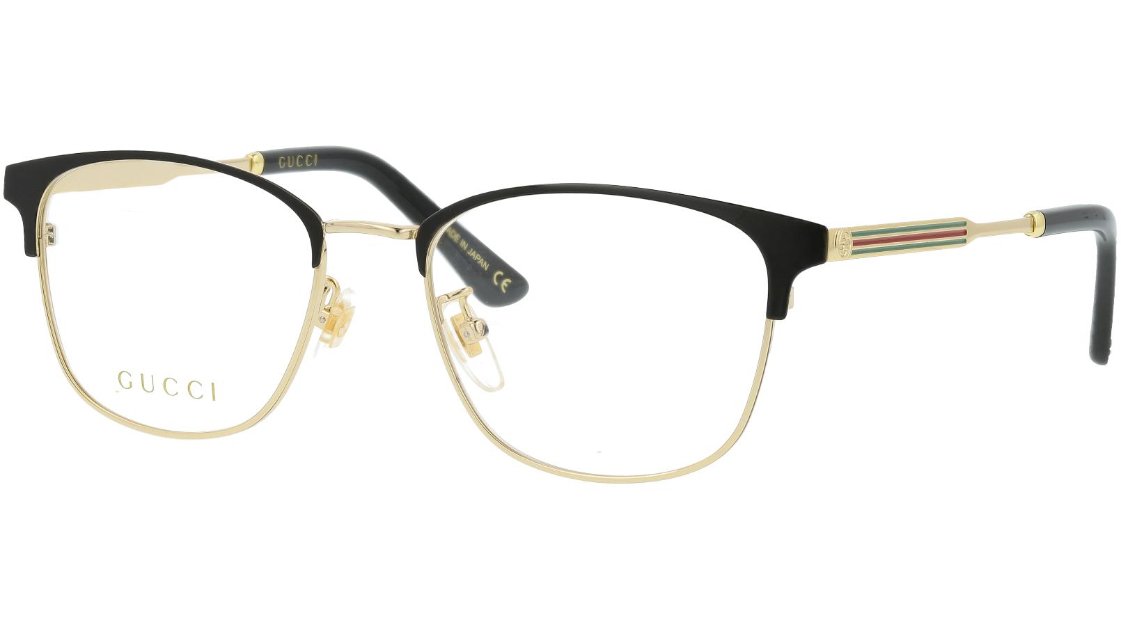 Gucci GG0609OK 001 52 Black Square Glasses
