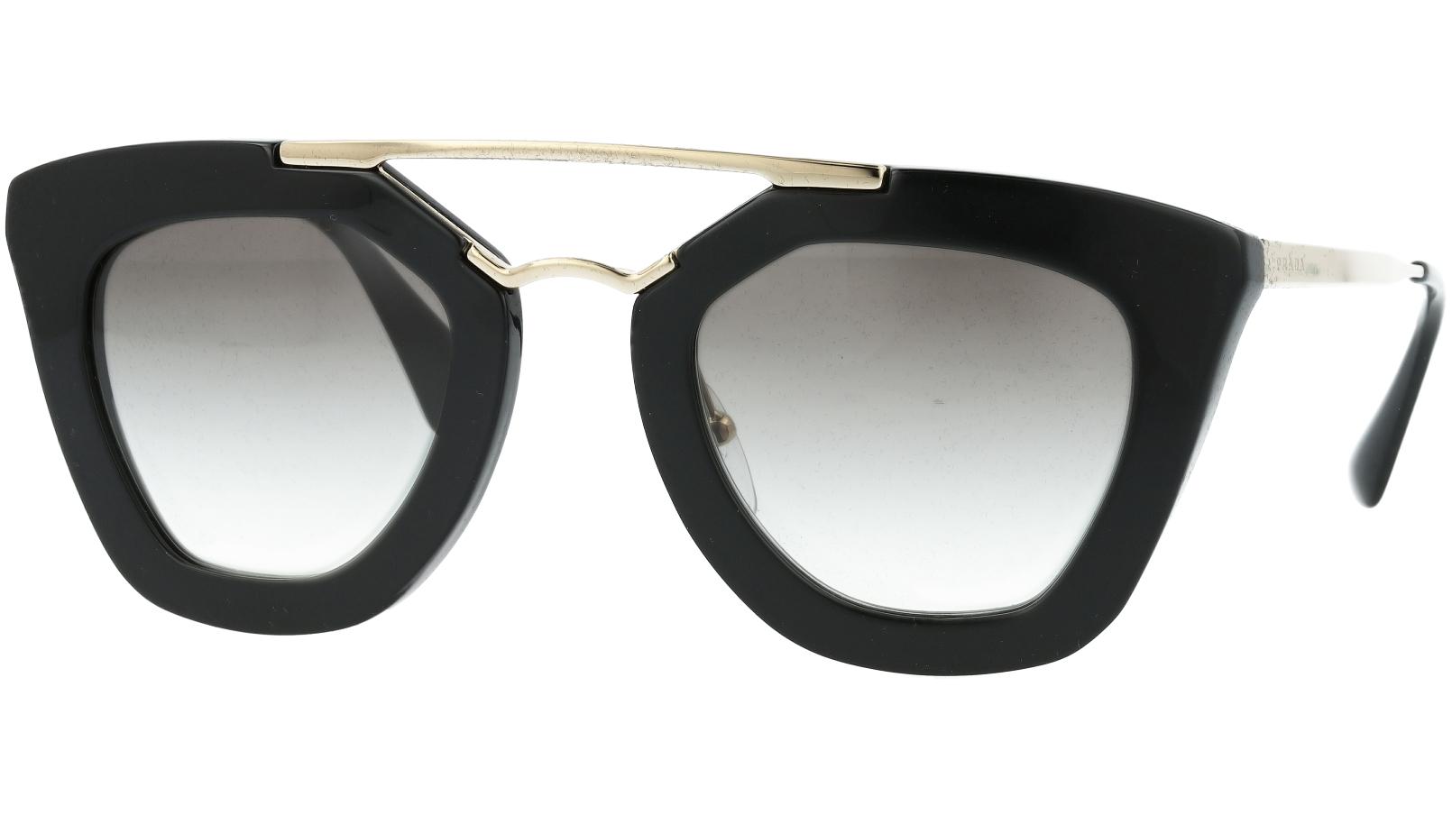 PRADA PR09QS 1AB0A7 49 BLACK Sunglasses
