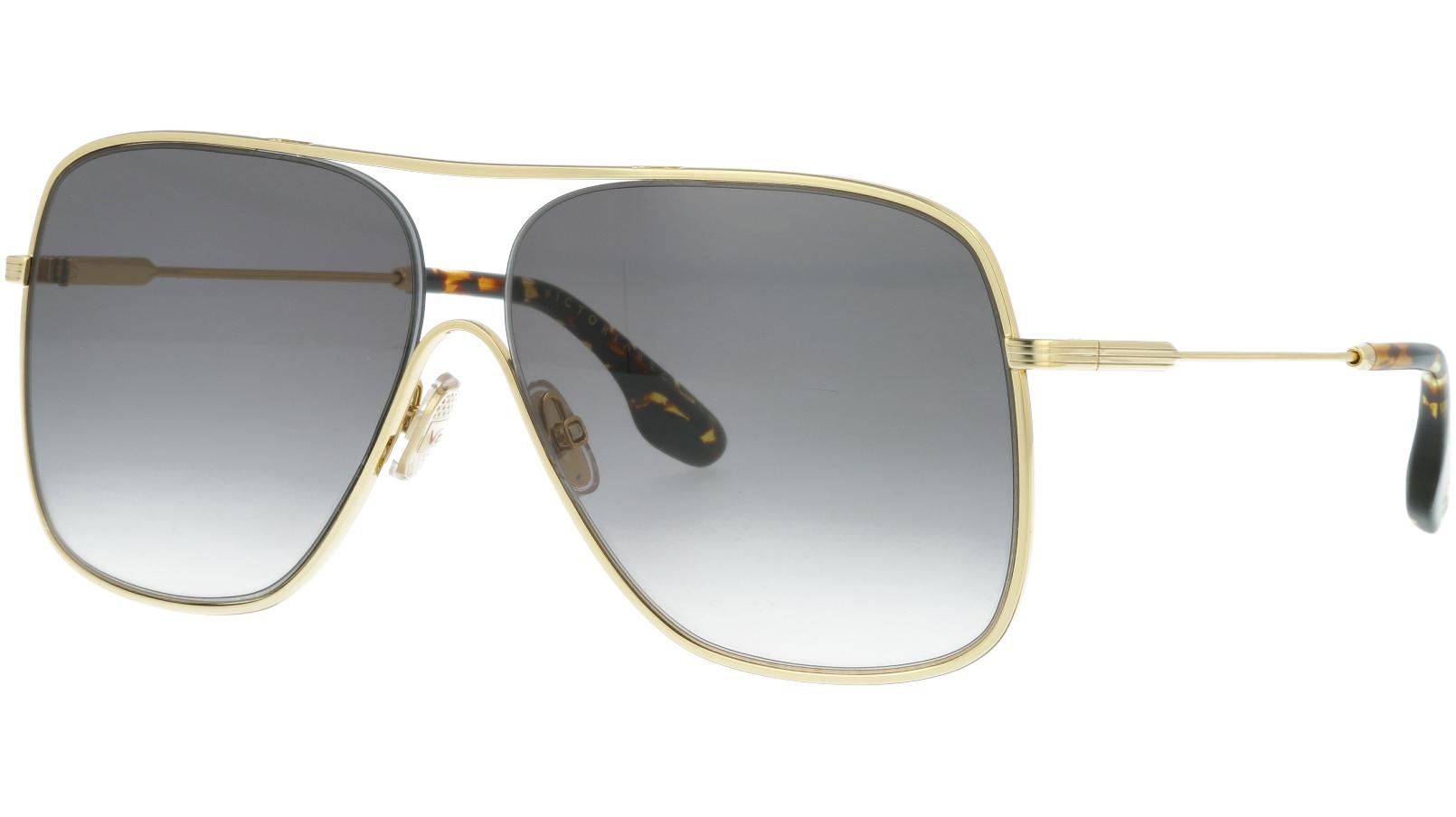 Victoria Beckham VB132S 701 61 Gold Sunglasses