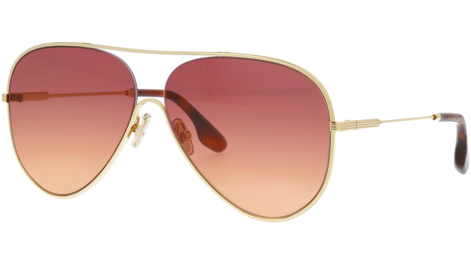 VICTORIA BECKHAM VB133S 711 61 GOLD Sunglasses