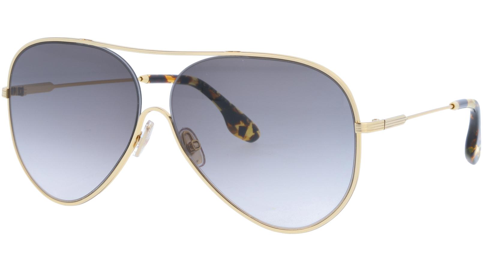 VICTORIA BECKHAM VB133S 701 61 GOLD Sunglasses