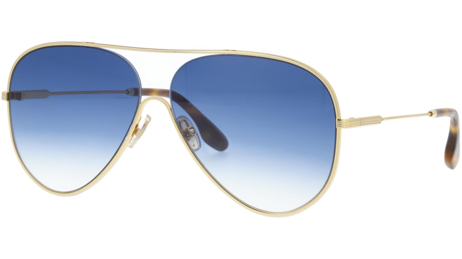 Victoria Beckham VB133S 706 61 Gold Sunglasses