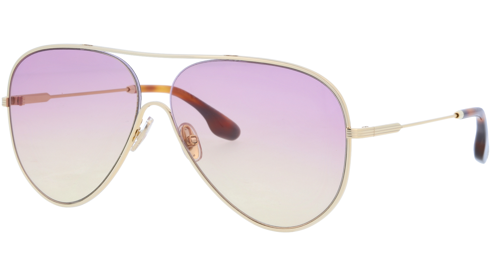Victoria Beckham VB133S 707 61 Gold Sunglasses