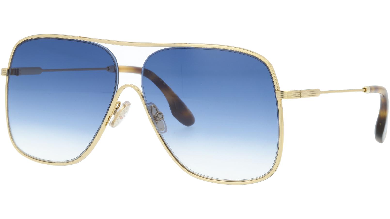 Victoria Beckham VB132S 706 61 Gold Sunglasses