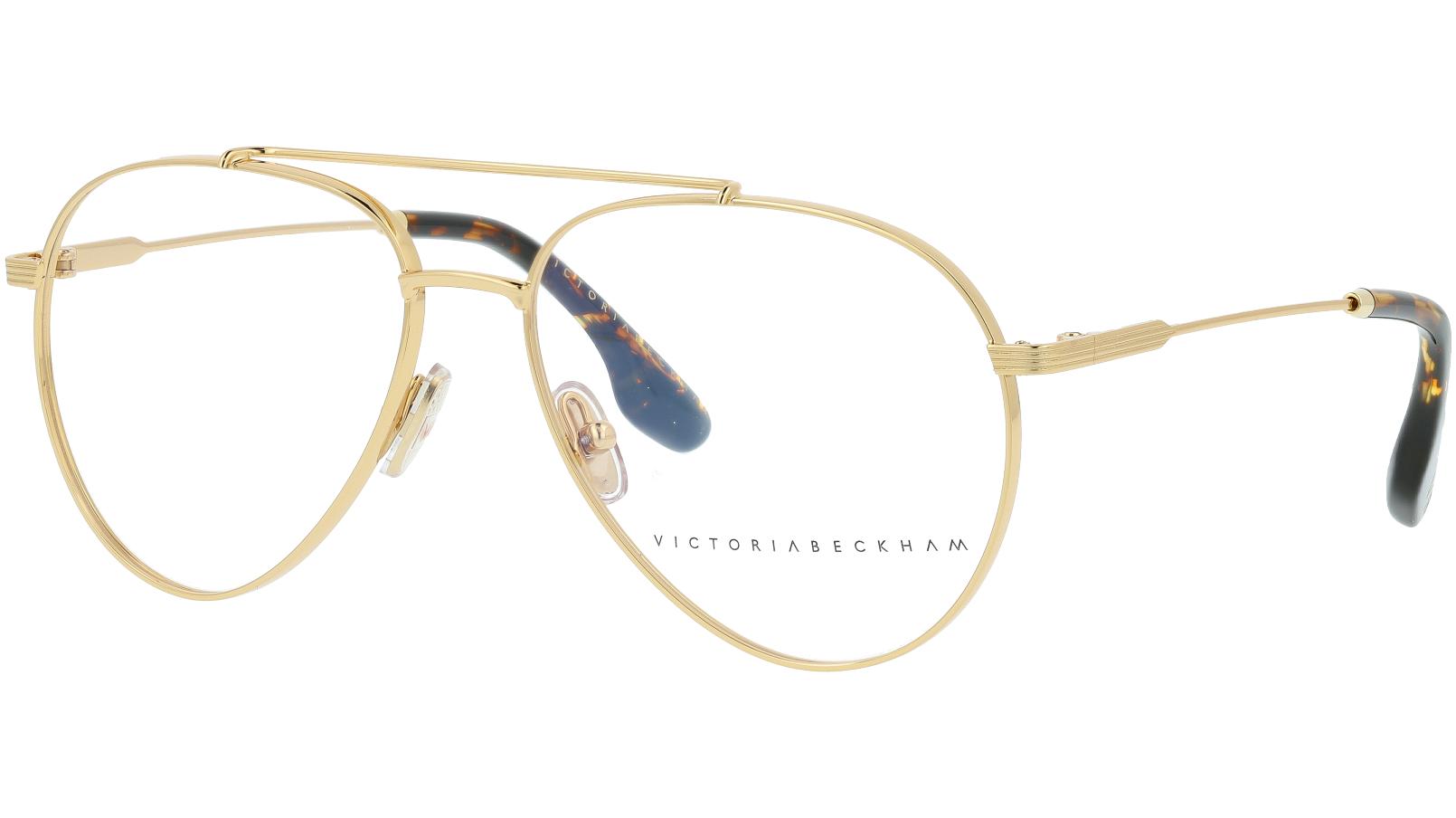 VICTORIA BECKHAM VB218 714 56 GOLD Glasses