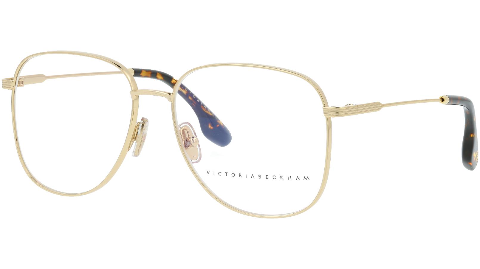 VICTORIA BECKHAM VB219 714 55 GOLD Glasses