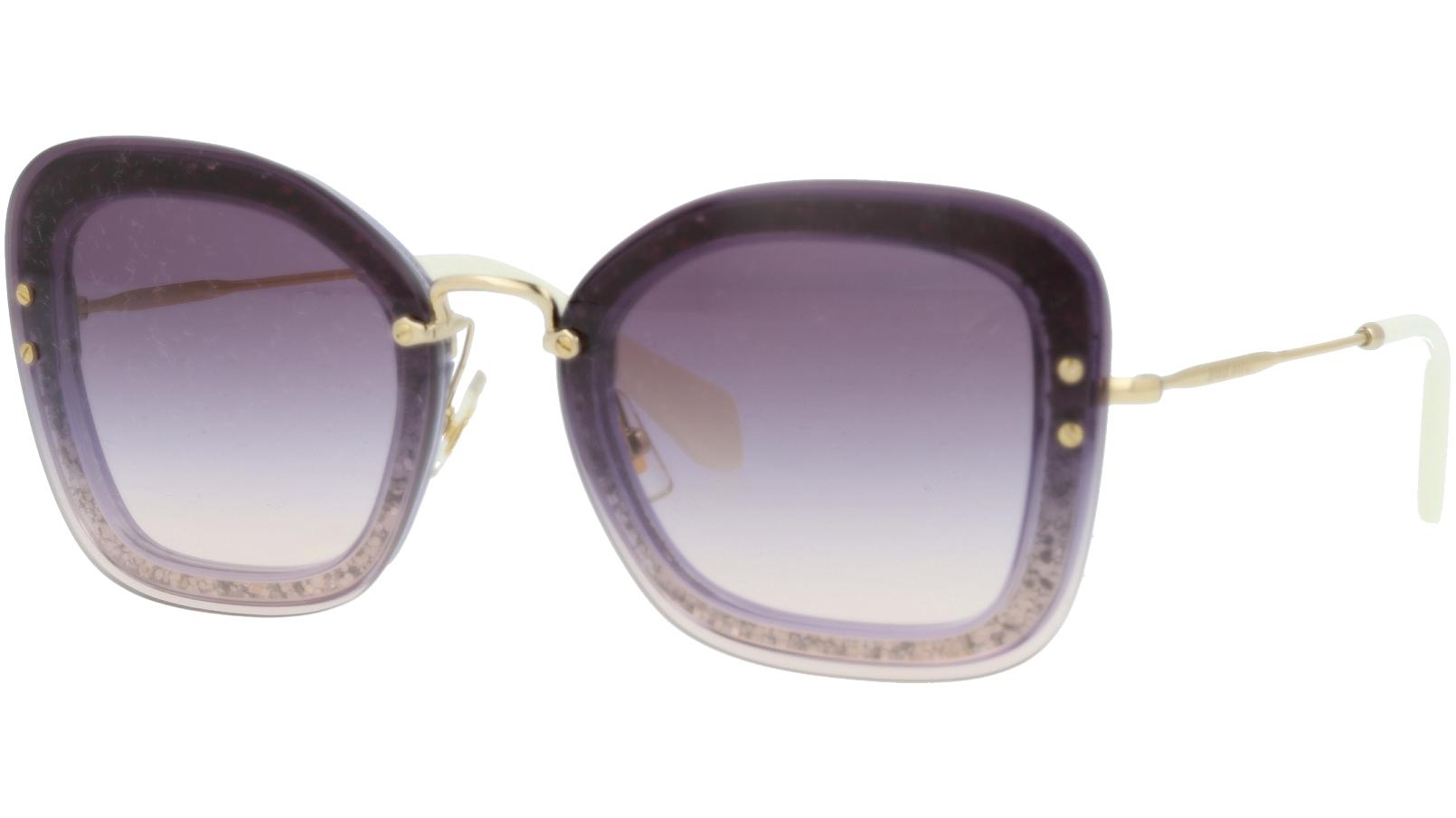 Miu Miu MU02TS 86LNJ0 65 Grey Cat-Eye Sunglasses
