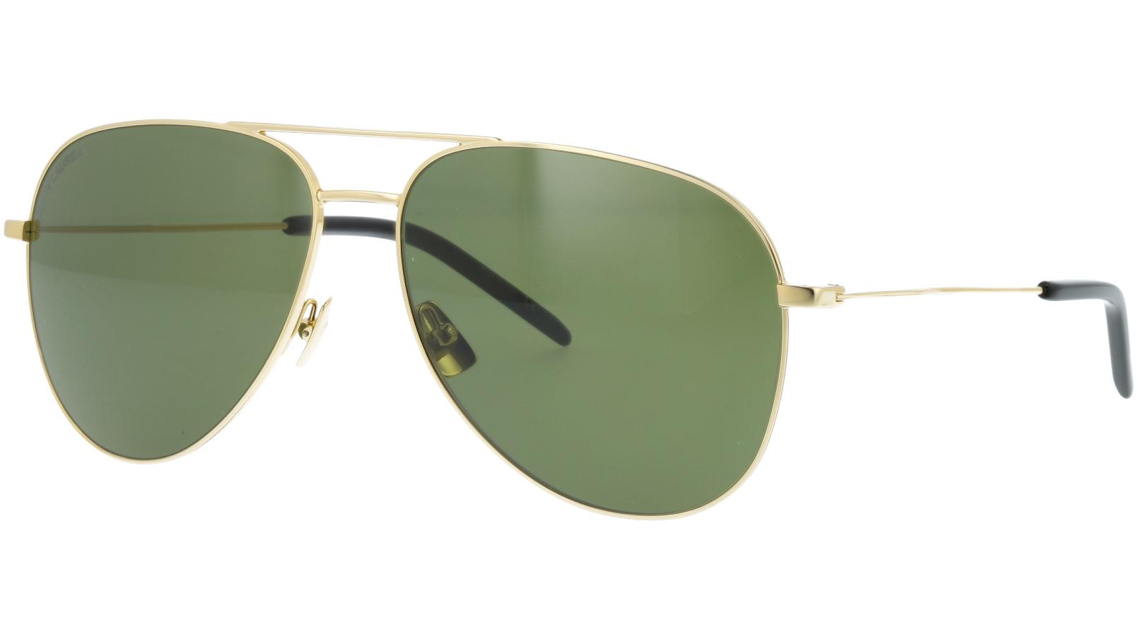Saint Laurent CLASSIC11 008 59 Gold Sunglasses