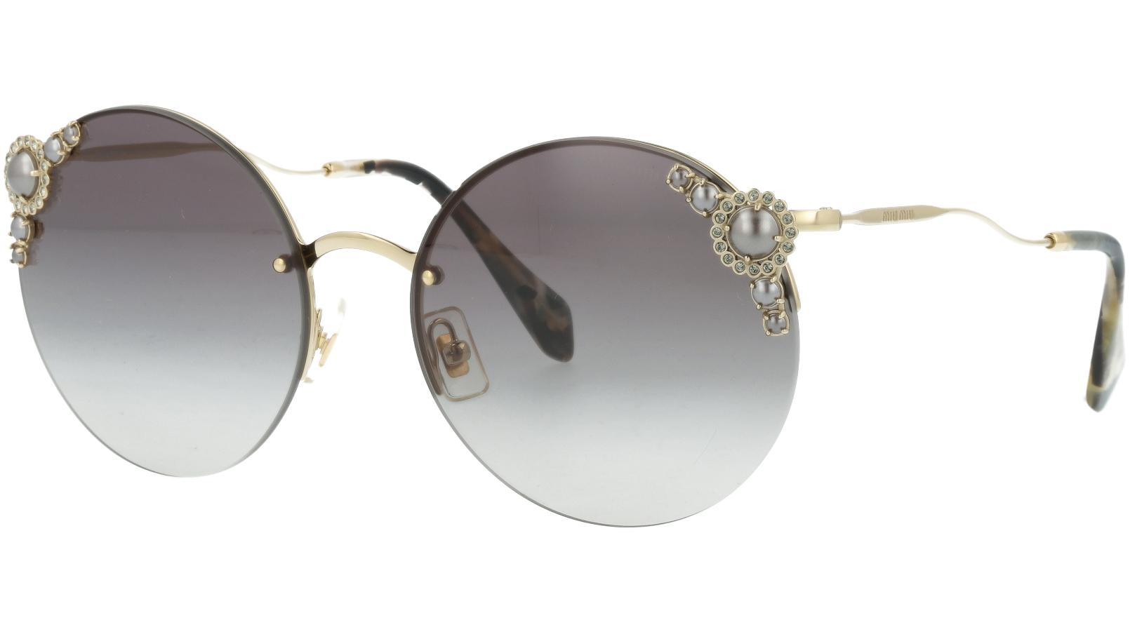 Miu Miu MU52TS WO43M1 60 Grey Pearl Sunglasses