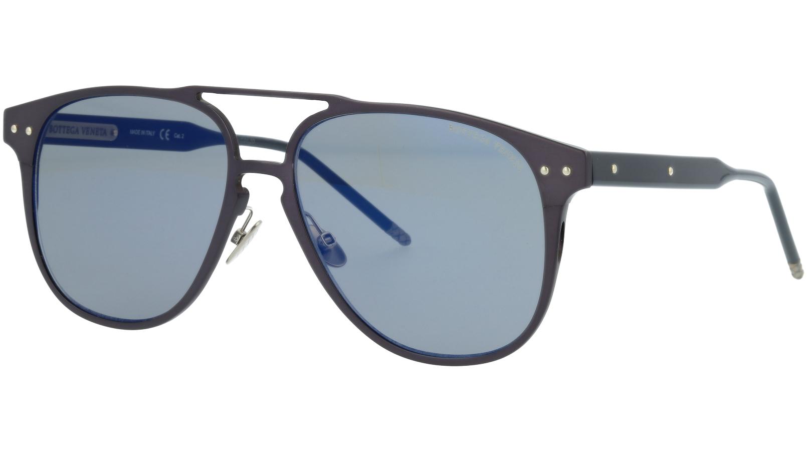 Bottega Veneta BV0212S 003 57 BLUE Sunglasses